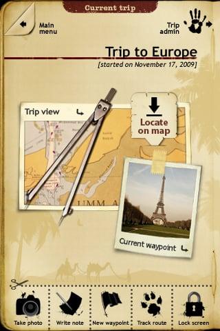 app review trip journal
