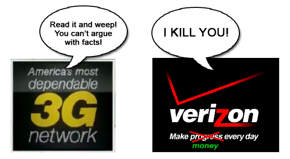 Verizon vs Sprint 3G Claim