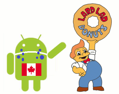 android_canada_donut