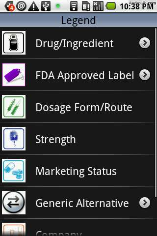 how to find if product has fda approved