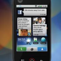 Motorola's MotoBLUR