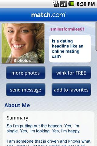 Witty profiles for dating sites