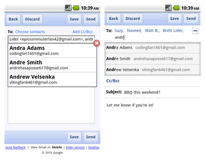 Google Redesigns 'Compose' Page in Gmail for Mobile ...