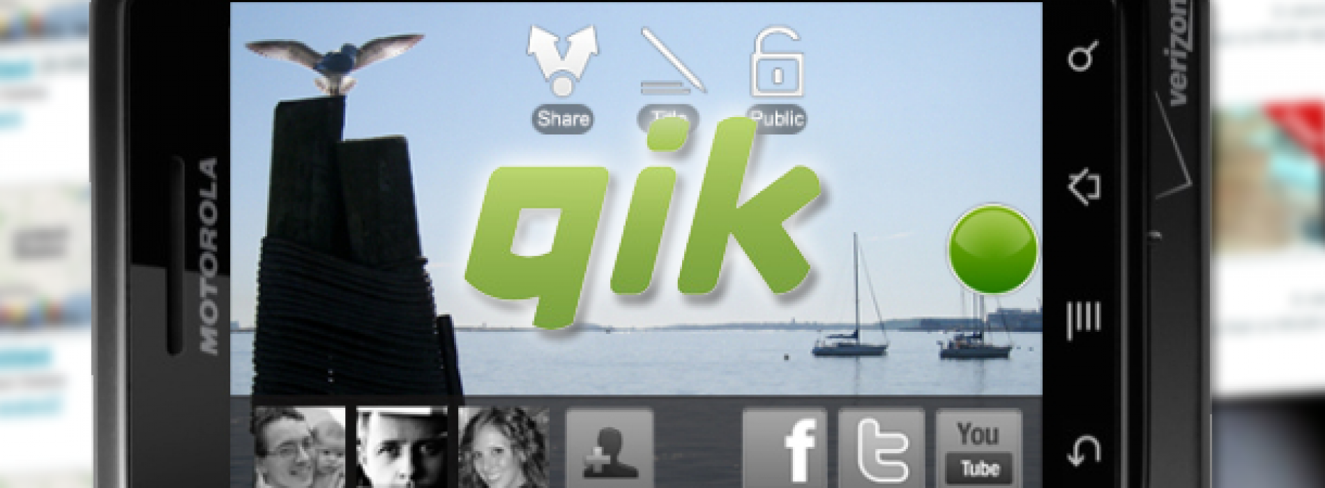 Stream Your Future Memories Real-Time with Qik