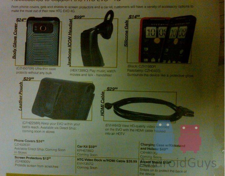 EVO Accessories