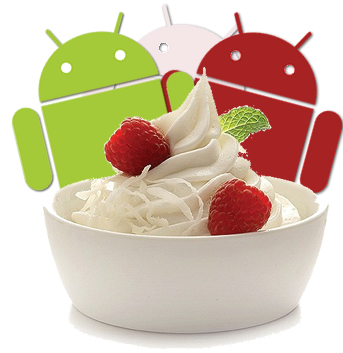 Frozen Yogurt ( Android 2.2 )