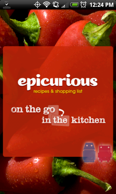 Epicurious brings recipe app to android forumfinder Choice Image
