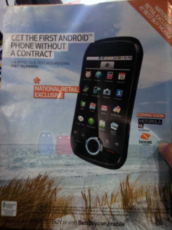 Boost Mobile to Offer First Android Phone Without a Contract