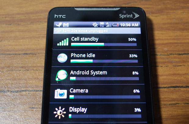 Tips to Extend the HTC Evo and Incredible's Battery Life