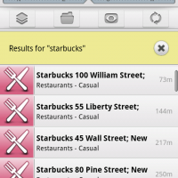 search starbucks