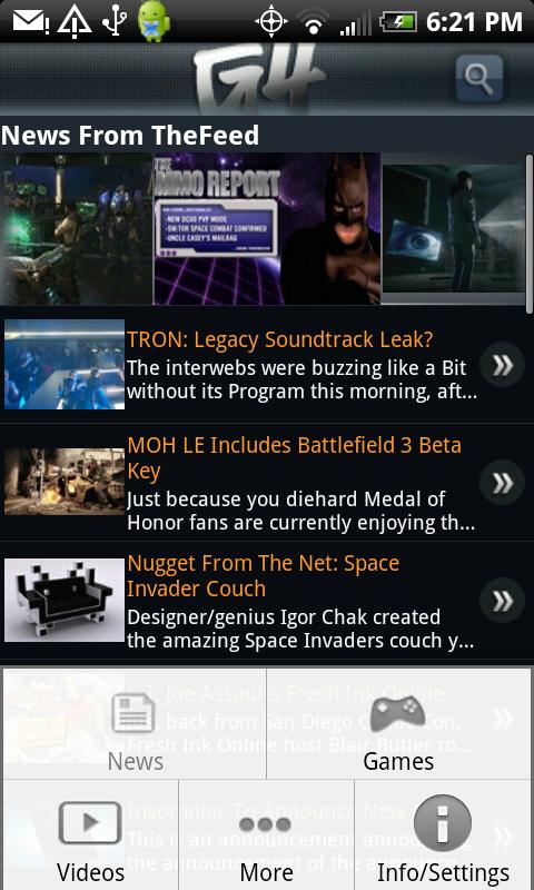 G4 - News - Controls