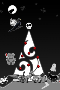 Greg And Matt Describe It As A Nightmare Before Christmas Live Wallpaper Its Full Of Dragons