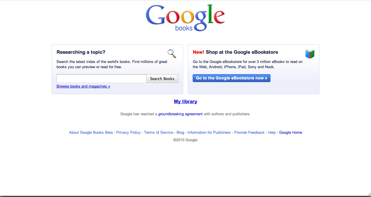 New Google Books UI