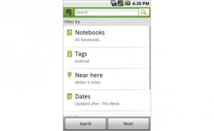 evernote android-filters1