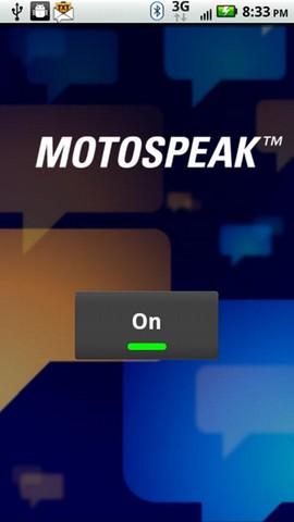 motospeak screenshot