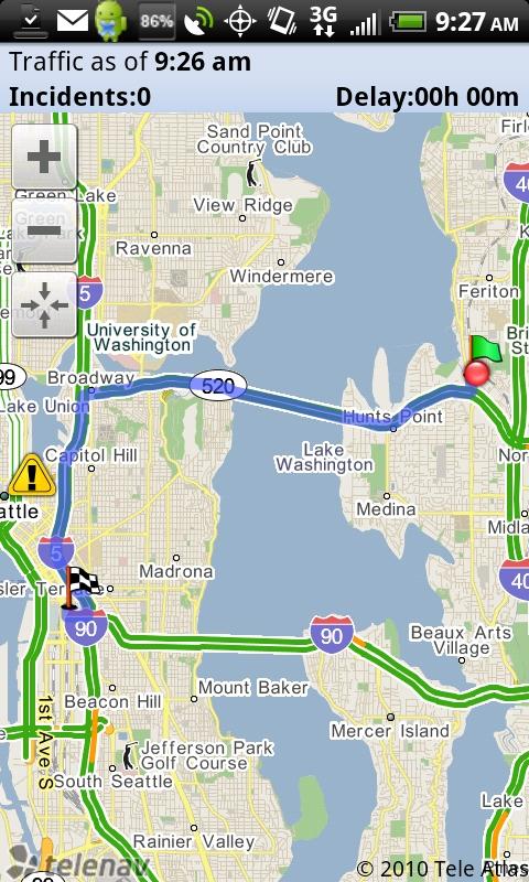 Commute Alert Map