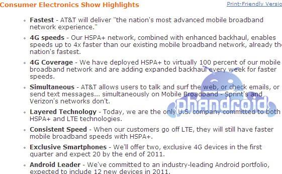AT&T Roadmap