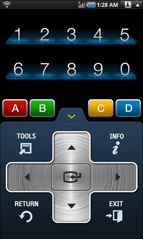 Samsung TV Remote App in Android Market
