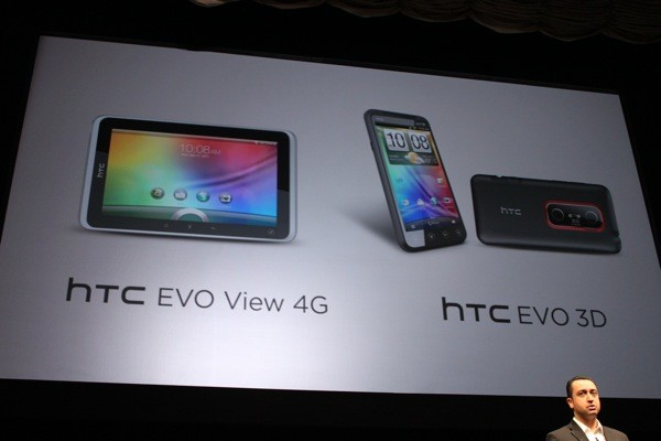 EVO View 4G and EVO 3D