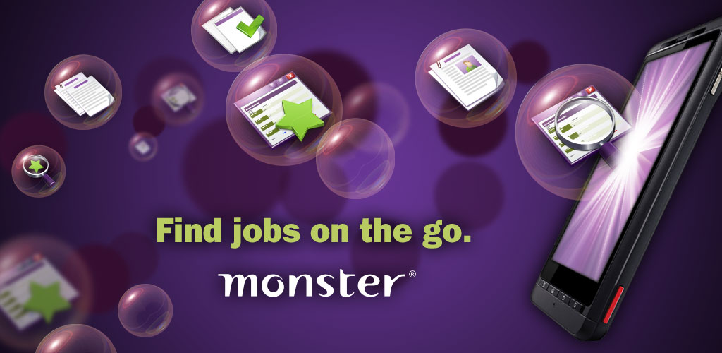 Monster.com Brings Job Search to Android Devices