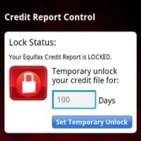 EQUIFAX CREDIT REPORT CONTROL  Equifax Credit Report Control(TM)--Lock and unlock your Equifax Credit Report in real-time