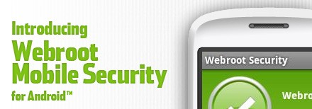 Webroot Mobile App for Android