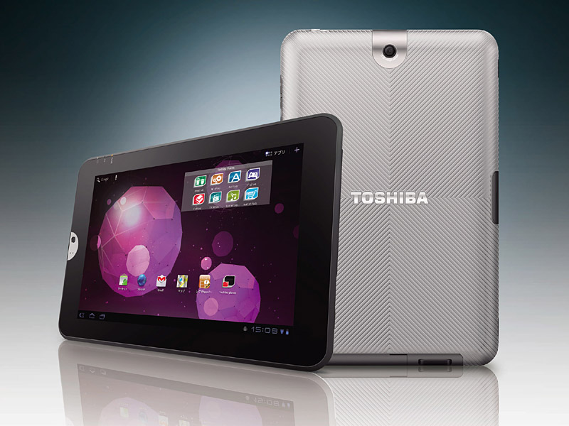 Meet Toshiba's 10.1-Inch Regza Tablet AT300