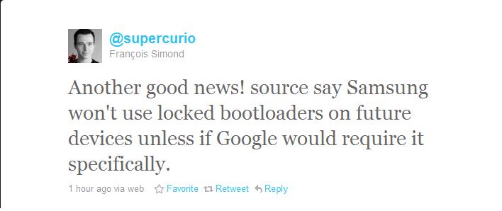 unlocked bootloader!