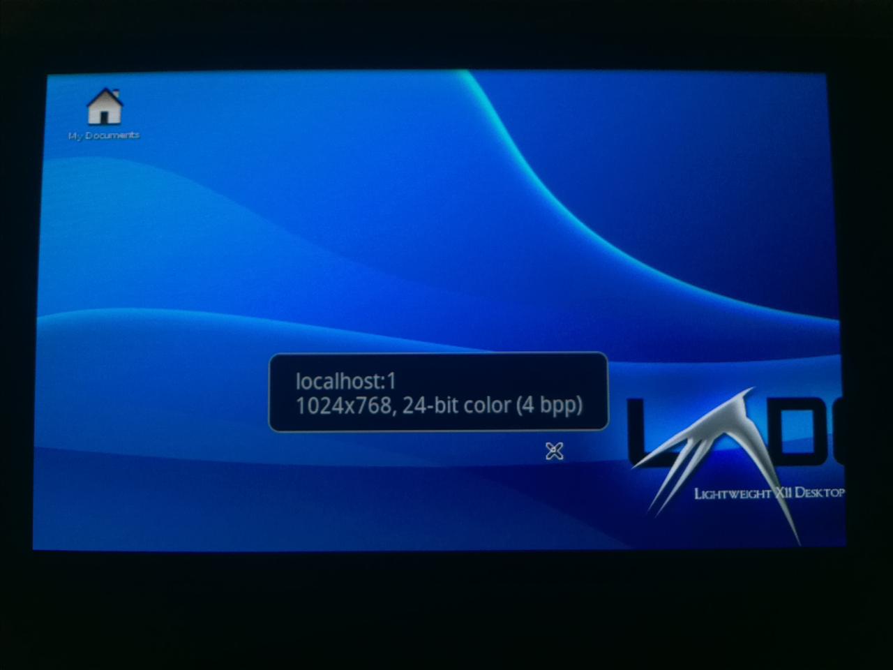 Ubuntu SGS2 VNC info