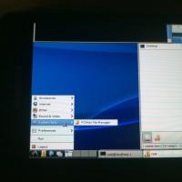 Ubuntu SGS2 LXDE menu expanded