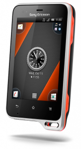 Xperia-active_Front40V_BlackOrange_SCR2-326x600