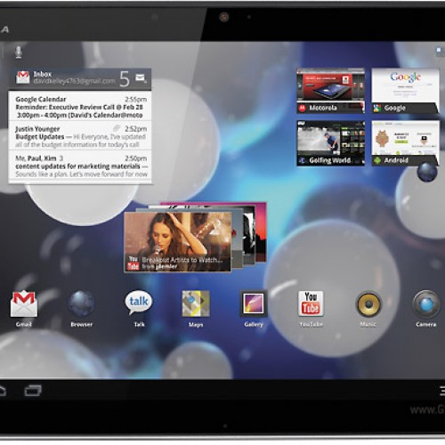 Motorola now rolling out Android 3.2 for UK XOOM