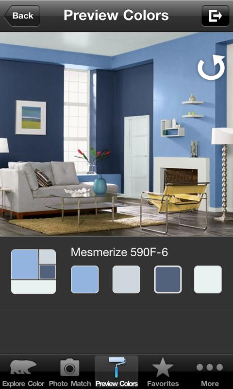 Colorsmart by behr is now available for android for Paint color matching app
