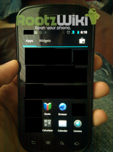 ICS Launcher apps
