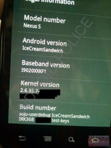 ICS Version Number