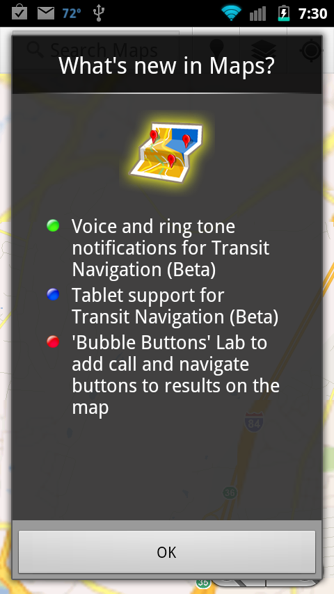 googlemapsupdate