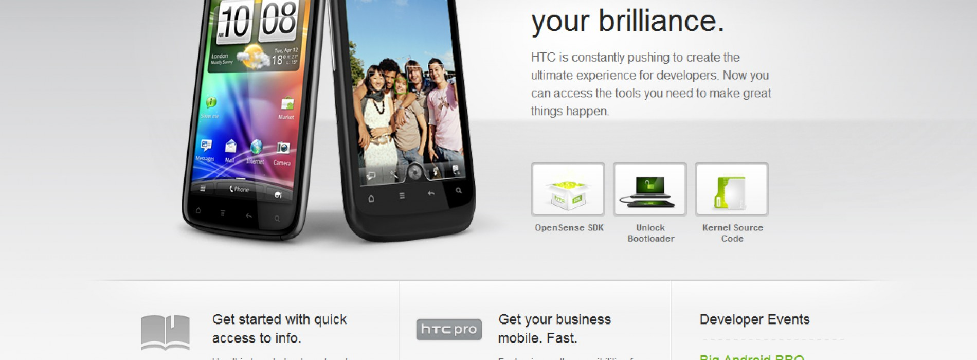 HTCDev releases new APIs for Android developers