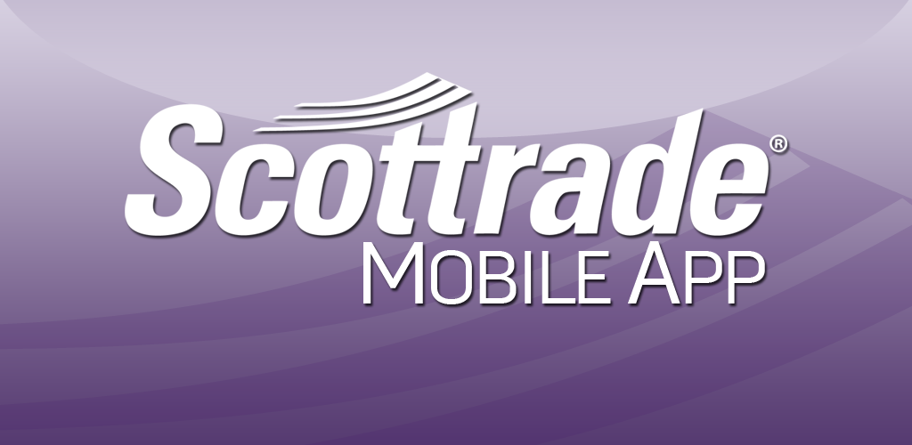 Scottrade offers less educational material than E*Trade and TD Ameritrade. Customers here don't receive free stock reports. The broker does operate an educational page on its site called Knowledge Center. Scottrade Mobile Trading App Scottrade has apps for Apple, Android, and mobile web.