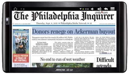 Philadelphia Media Network Becomes First U.S. Newspaper Publisher ...