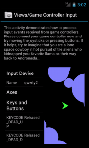 Android4.0Gamepads