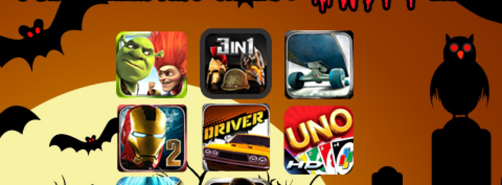 GameLoft Slashes Game Prices for Halloween