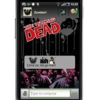 The Walking Dead message
