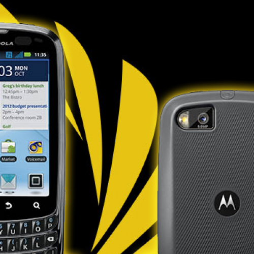 Sprint announces $99 Motorola Admiral for October 23