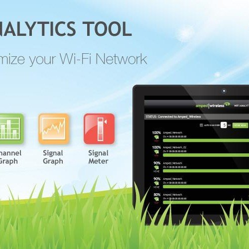 Amped Wireless Announces Wi-Fi Analytics App