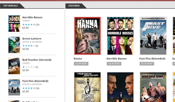 Android Market Movies Feature