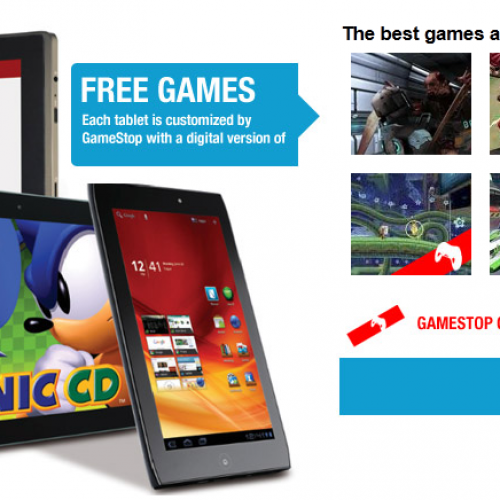 GameStop adds Android tablets to their arsenal of gaming devices