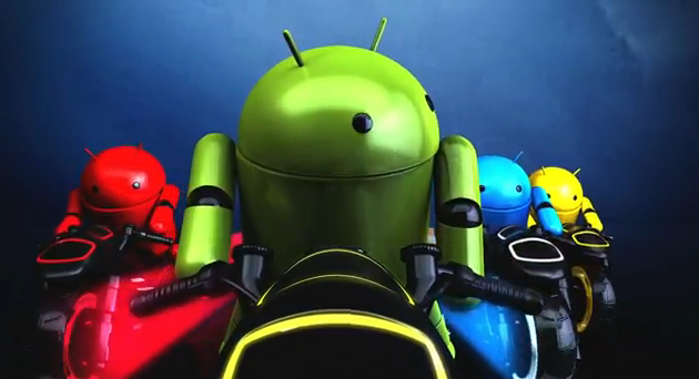 Google Nexus Droid Tron