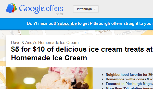 Google Offer Pitt