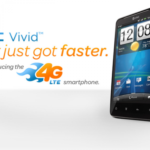 AT&T announces HTC Vivid, a $200 4G LTE Android smartphone