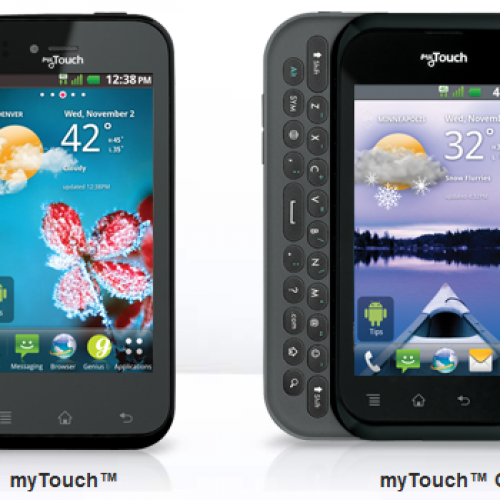 T-Mobile taps myTouch, myTouch Q with November 2 launch